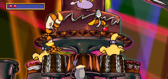 Lumiere Wants Me To Help Him Rehearse For The Big Dance Number On Cake