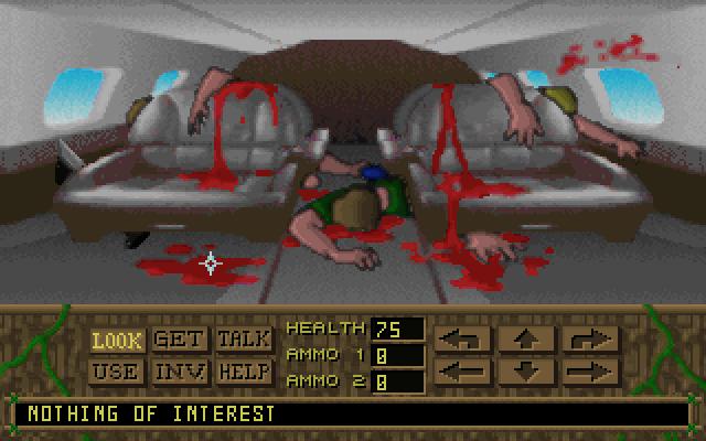 Super adventures in gaming isle of the dead ms dos for Bureau xcom declassified crash